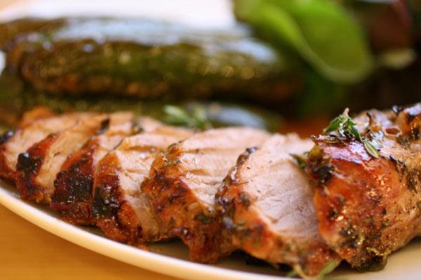 Ужин из  свинины