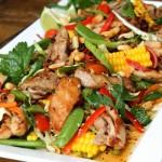 Английский салат с курицей