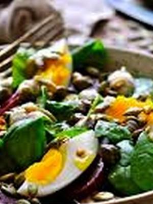Салат из каперсов с тунцом