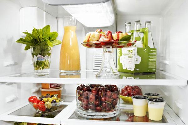 Что хранить на полке под морозилкой в холодильнике
