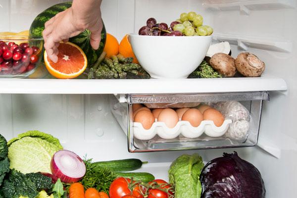 Правильное хранение продуктов в холодильной камере