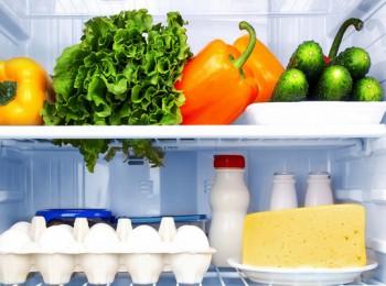 Хранения продуктов в холодильнике