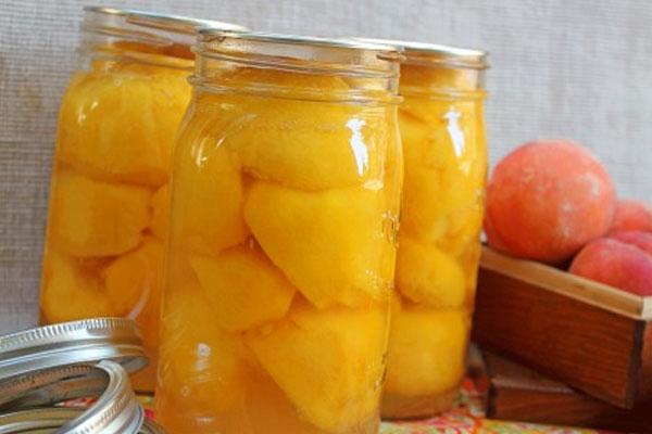 Консервированные персики - womanadvice ru