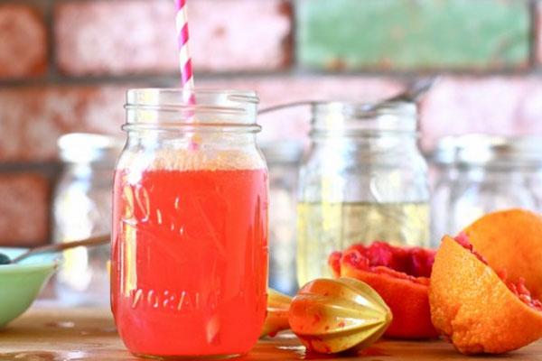Лимонад из замороженного апельсина в домашних условиях