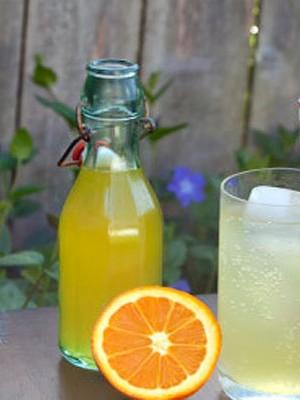 Апельсиновый лимонад в домашних условиях