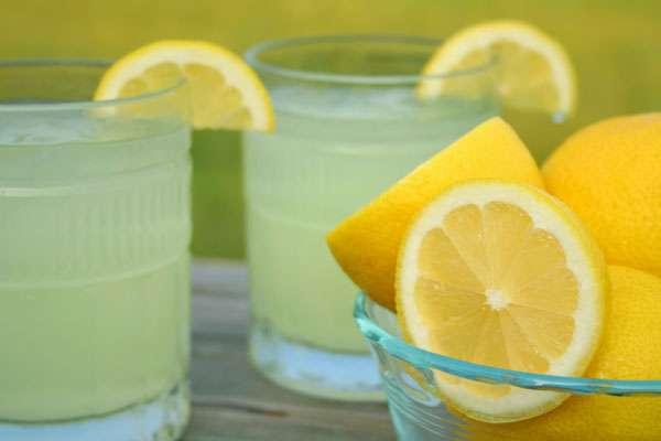 Классический рецепт лимонада из лимонов