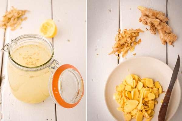 Лимонад с имбирем в домашних условиях