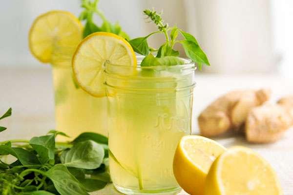 как приготовить лимонад из лимона и мяты