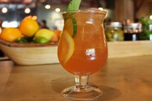 Огуречно-апельсиновый лимонад