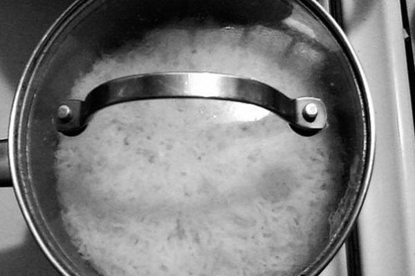 Как сварить в кастрюле круглозерный рис