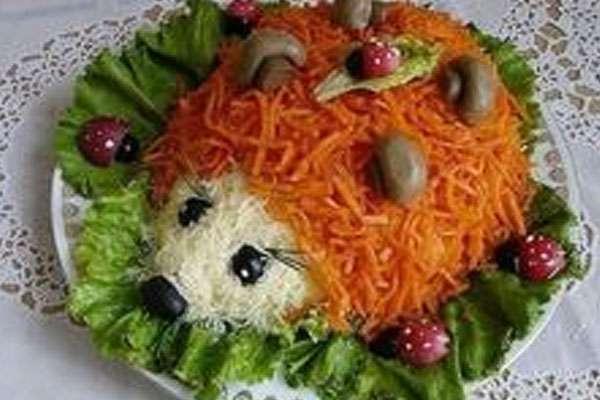 Вкусные салаты для детского дня рождения