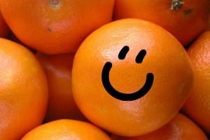 Апельсиновое меню на день рождения