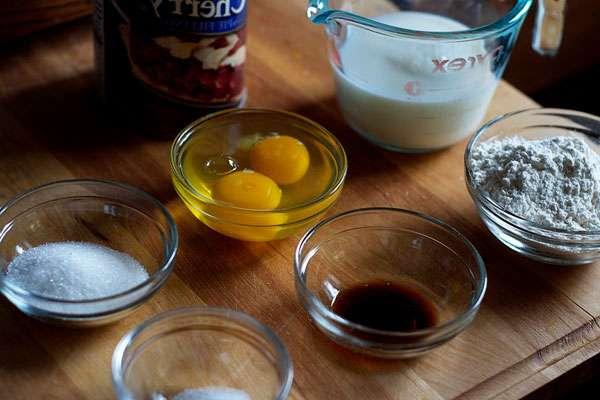 Как приготовить французский пирог клафути с вишней