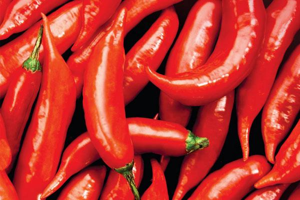 Хранение красного горького перца