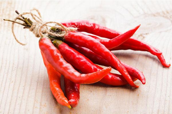 Использование красного горького перца в кулинарии