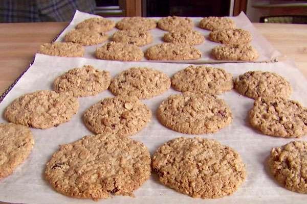 Миндальное овсяное печенье без муки - домашний рецепт