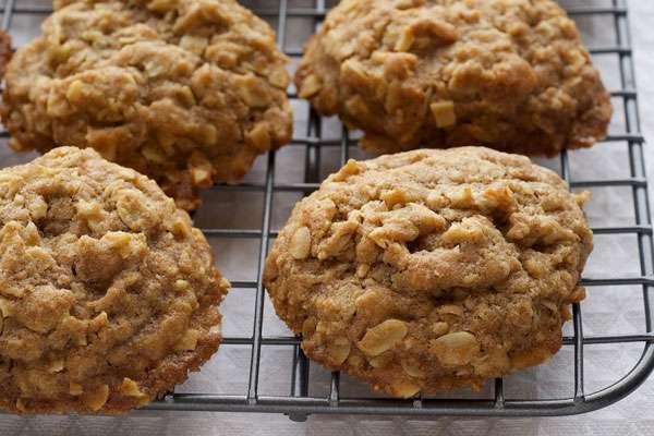 Десертное овсяное печенье без муки