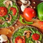 Пицца для сыроедов
