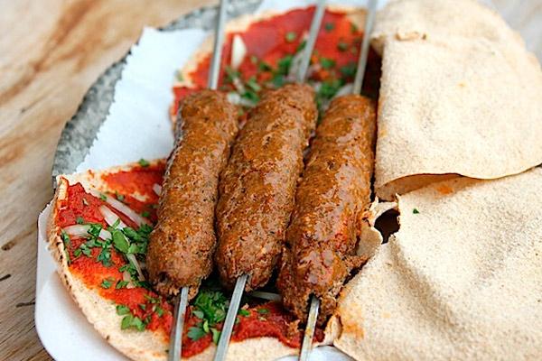 Люля кебаб в лаваше рецепт с пошаговый