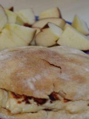 Яблочный пирог из лаваша