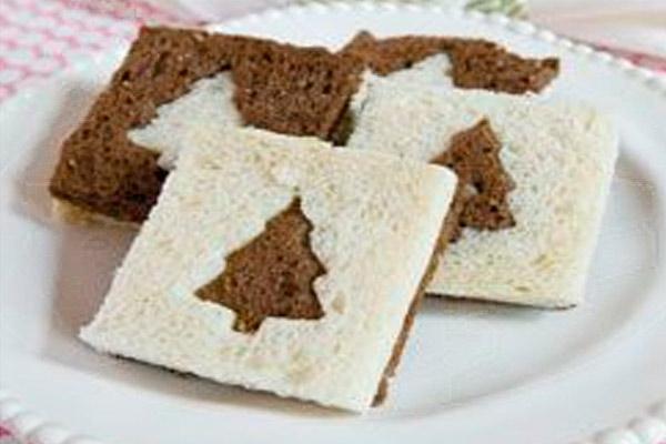 Бутерброды на новогодний стол