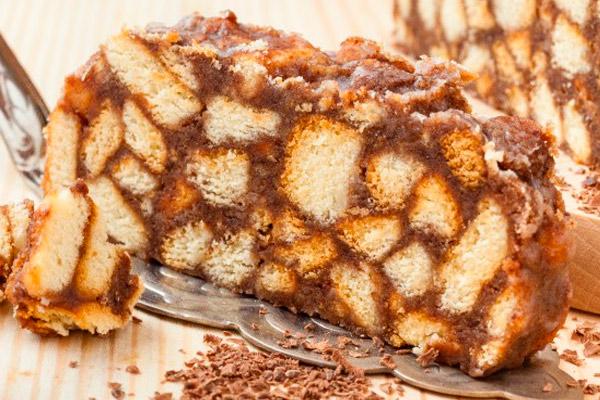 Как сделать торт из сгущенки и печенья