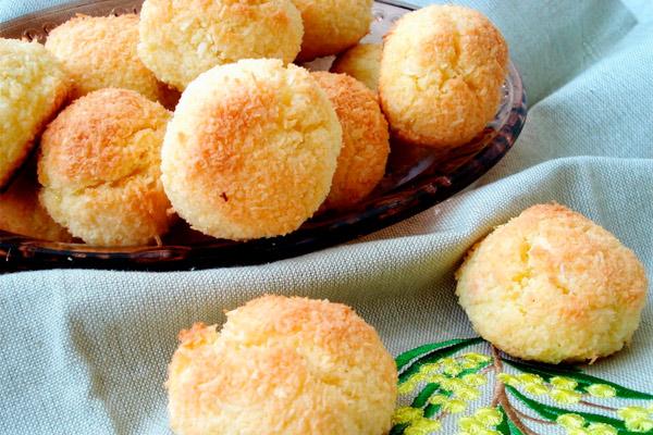 Печенье «кокосинка» в микроволновке - выпекаем дома