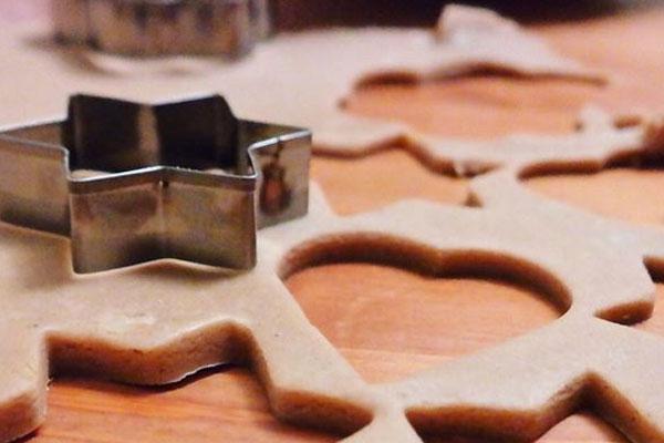 Рецепт новогоднего печенья с имбирем без формы