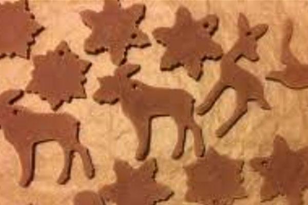 Как приготовить новогоднее имбирное печенье