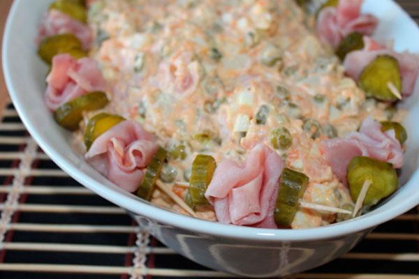 Салат дамский каприз рецепт с языком