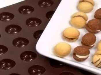рецепт орешков с вареной сгущенкой в духовке