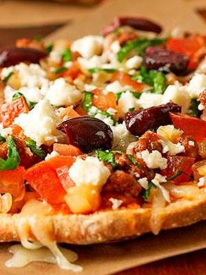 Пицца классическая из толстого лаваша в духовке