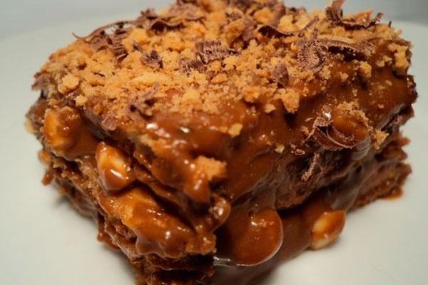 Торт из кукурузных палочек