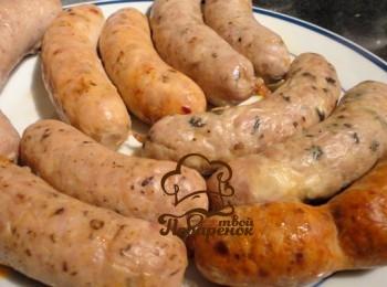 Домашняя вареная колбаса в мультиварке
