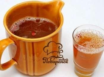 буза напиток рецепт из пшена и изюма