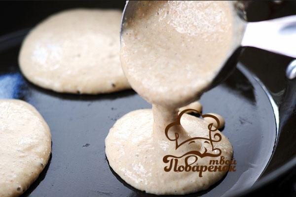 Как приготовить американские панкейки на молоке
