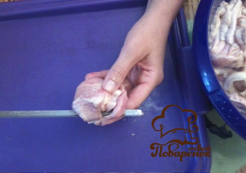 Куриный шашлык: пошаговый фоторецепт