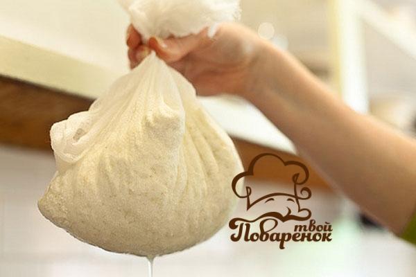 Изготовление сыра брынза из молока дома