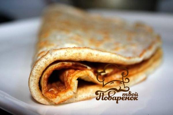 Рецепт блинов из кефира без соды