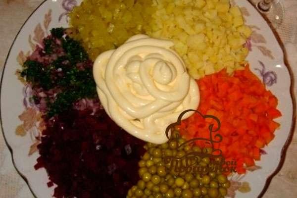 Салат ералаш рецепт с фото пошагово