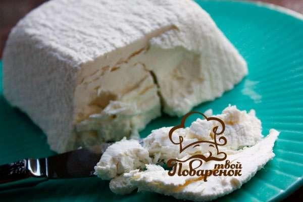 рецепт приготовления сыра из творога и молока пошаговый рецепт