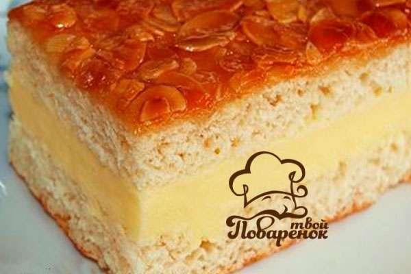 Торт манник пошаговый рецепт