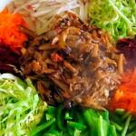 Салат ералаш с корейской морковкой