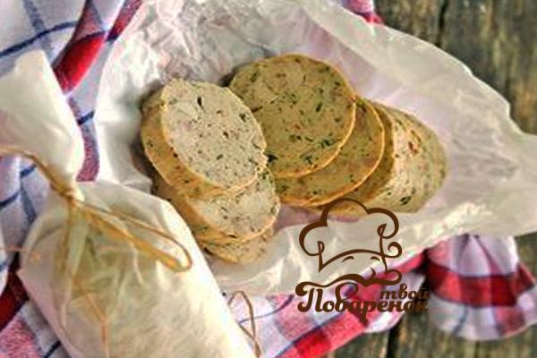 Варёная колбаса в домашних условиях