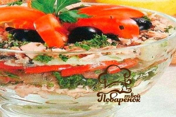 Салат венеция классический пошаговый рецепт