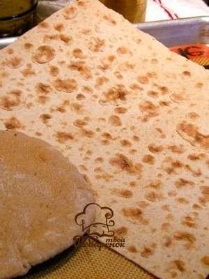 Как приготовить армянский лаваш дома без дрожжей в духовке