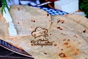 армянский лаваш дома