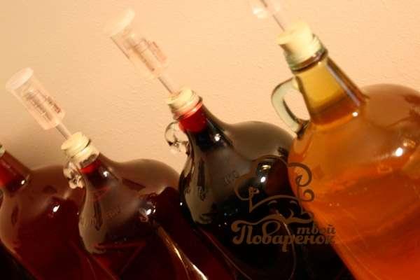 Вишневое вино в домашних условиях