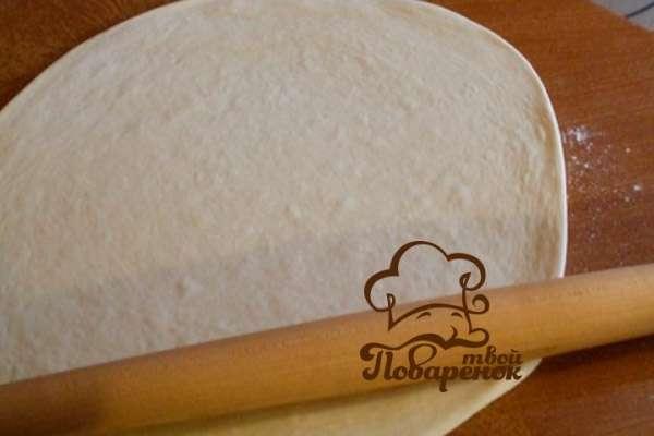 Тесто для лаваша в домашних условиях для