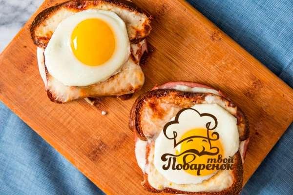 Быстрый завтрак из яиц